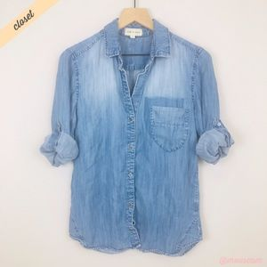 [Cloth & Stone] Faded Chambray Buttondown Shirt